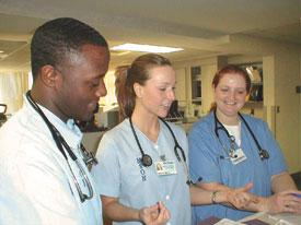 CMC-Mercy Nursing Students