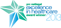 excellence in healthcare winner 2013