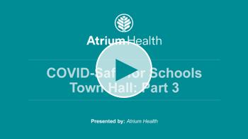 COVID Safe for Schools Webinars Part 3