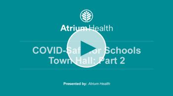 COVID Safe for Schools Webinars Part 2