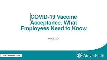 Vaccine Acceptance Presentation
