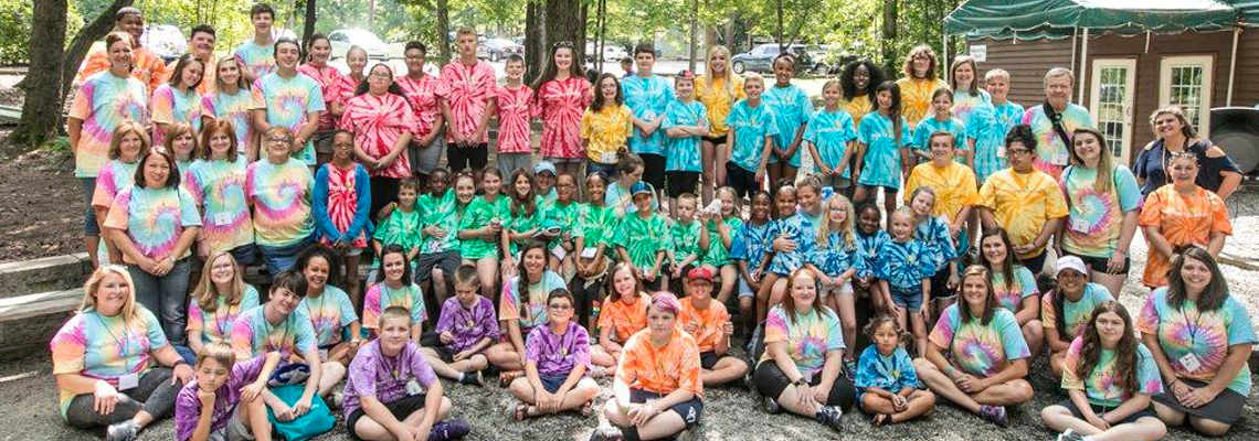 Wings to Soar campers give thanks to the community.