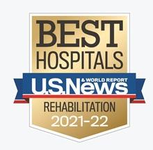 USNWR rehabilitation badge