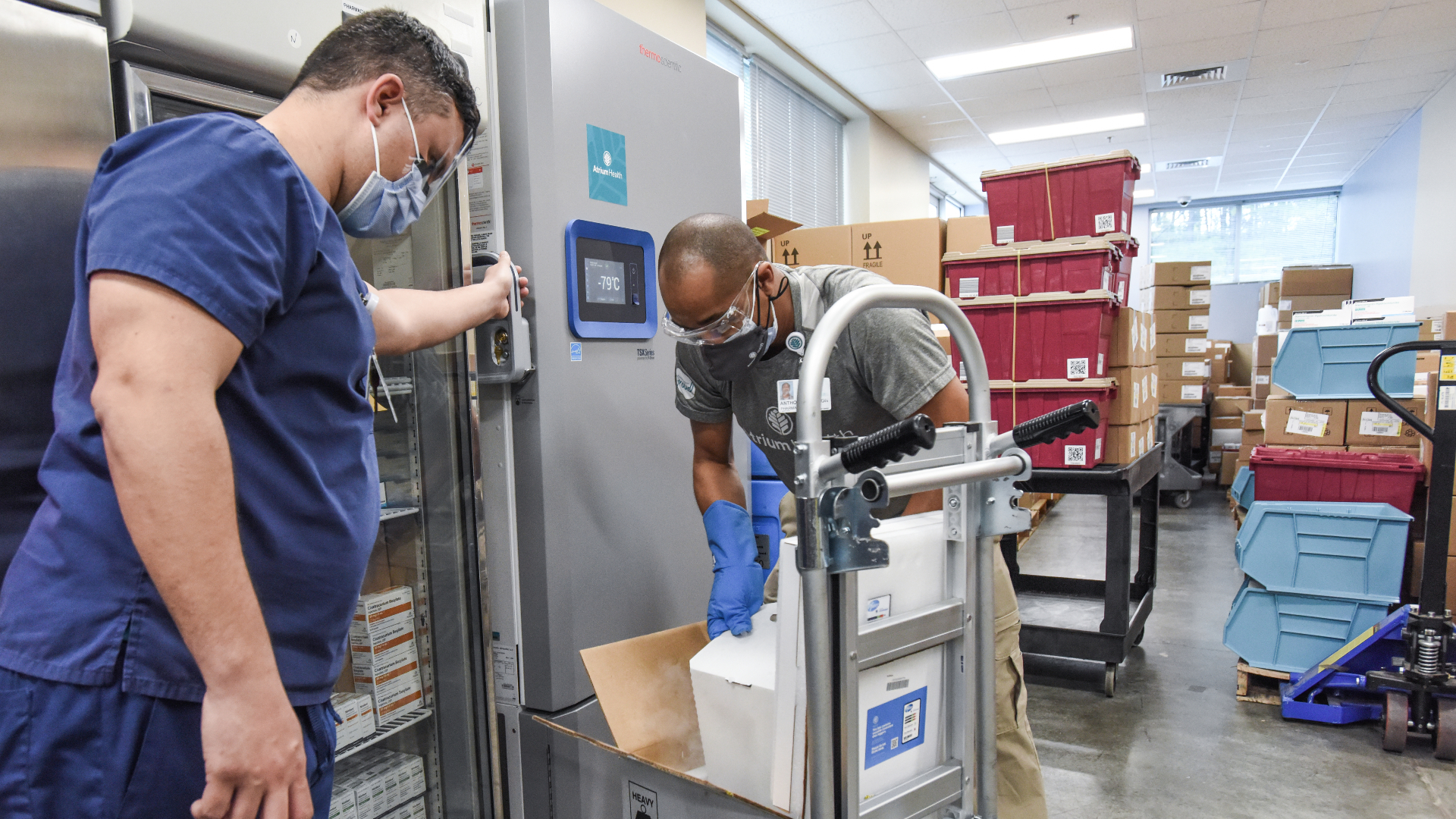 Atrium Health receives first COVID-19 vaccines