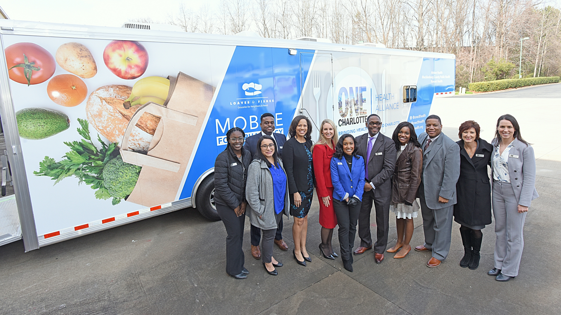 ONE Charlotte mobile food pantry