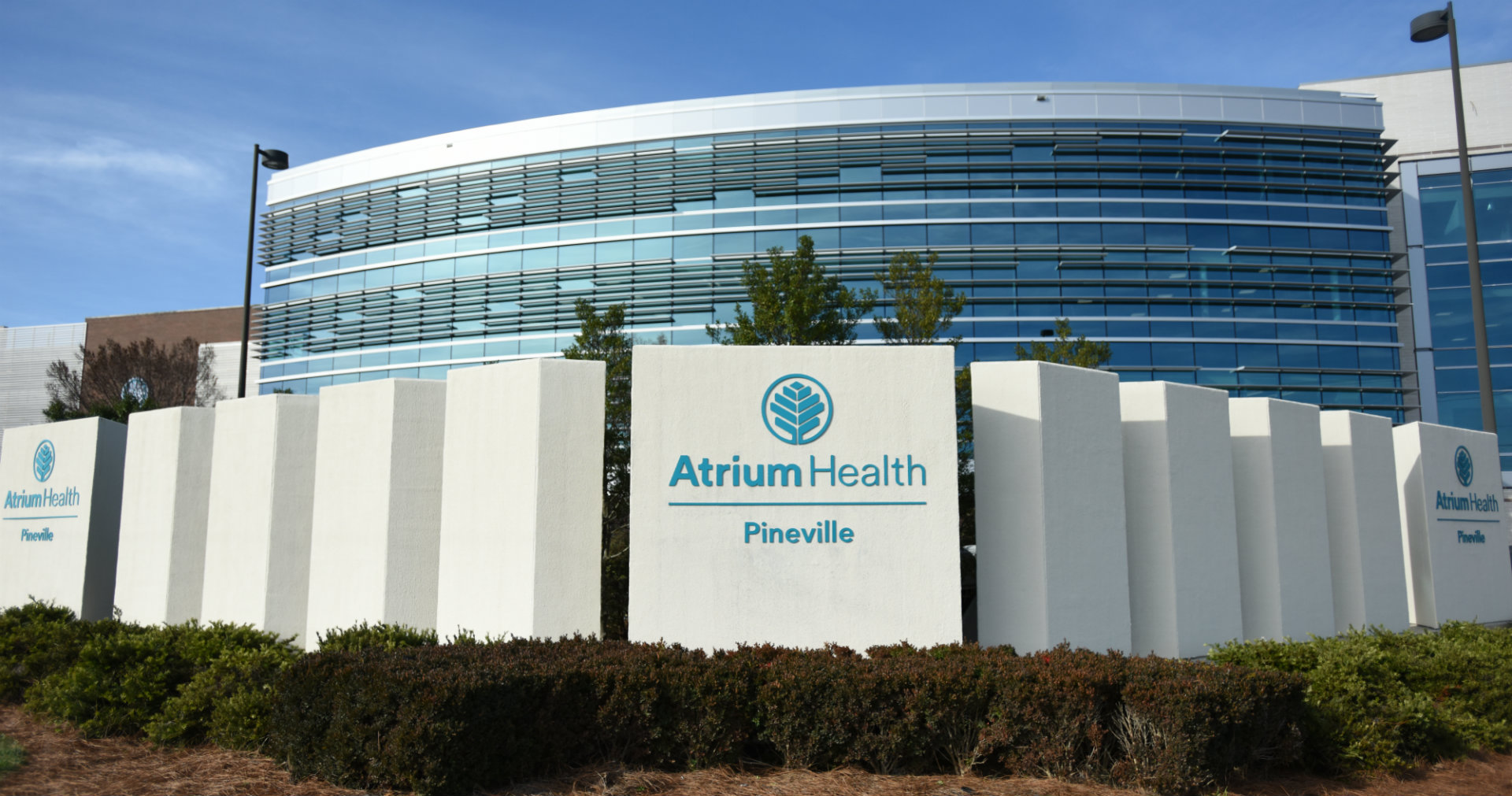 Atrium Health Pineville became the hospital's official name on January 1, 2019.
