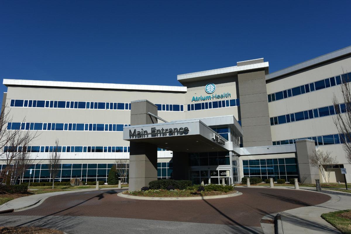 Atrium Health Union became the hospital's official name on January 1, 2019.