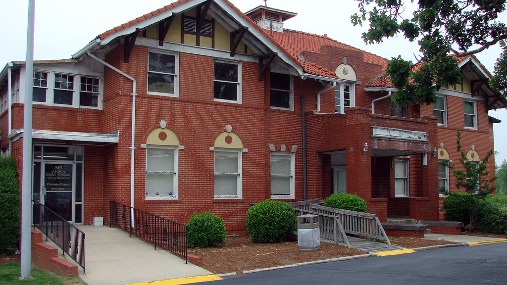 The 'Anson Sanatorium' was Anson County's first community health facility. It opened in 1913.