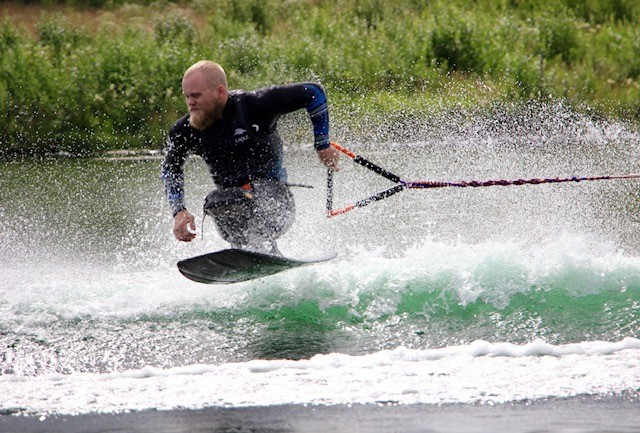 Eli Hager participates in the 14th Barbara Bolding/Jim Grew Fund Disabled Water Ski World Championships, July 25-28 in Skarnes, Norway.