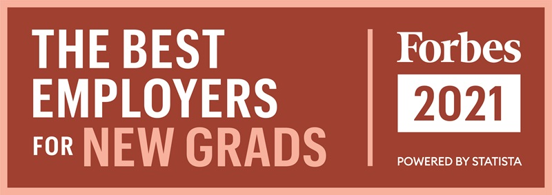 Atrium Health has been named to the Forbes list of America's Best Employers for New Graduates 2021 for the fourth time. This prestigious award is presented by Forbes and Statista, Inc., a leading statistics portal and industry-ranking provider.
