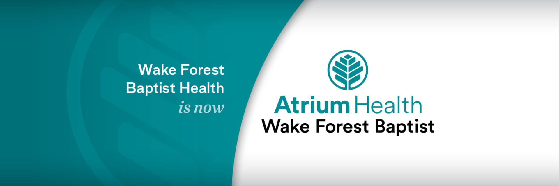 Today Wake Forest Baptist Health and Atrium Health unveiled their strategic combination's new brand, Atrium Health Wake Forest Baptist.
