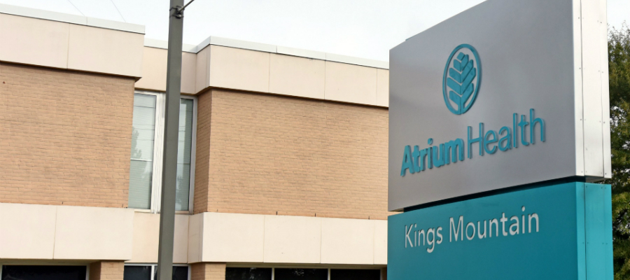 Atrium Health Kings Mountain became the hospital's official name on Nov. 1, 2018.