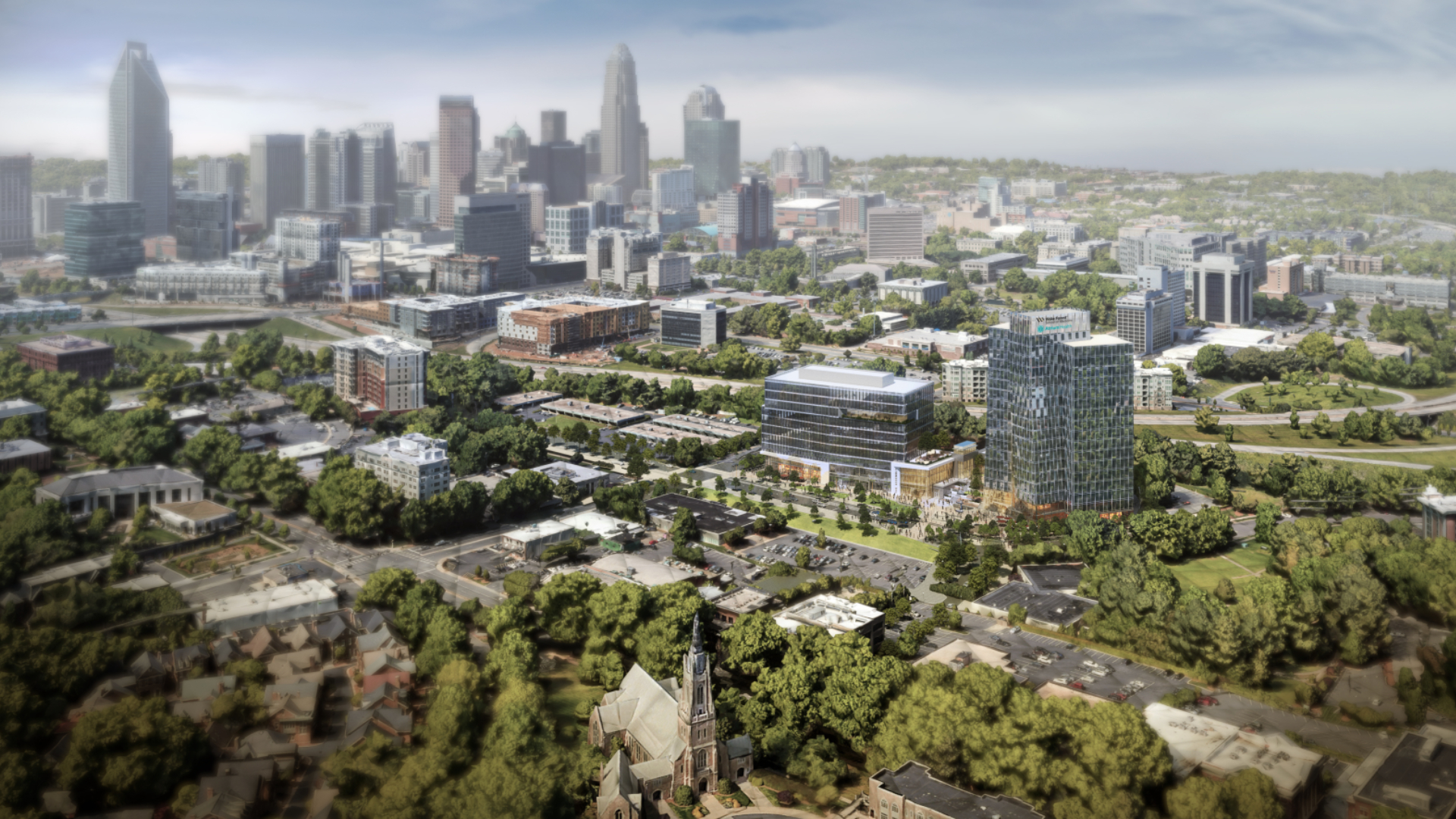 Wake Forest School of Medicine to Be Built in Midtown Charlotte.  First medical school in the nation to be built since the pandemic, near Atrium Health Carolinas Medical Center.
