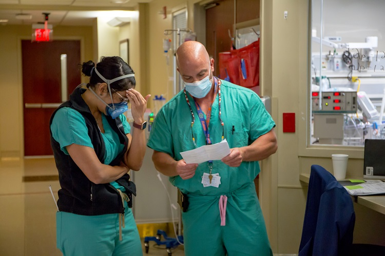 The teammates working in our COVID-19 units have experienced some of the most traumatic moments of the pandemic.