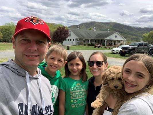 Christian Shulz and family