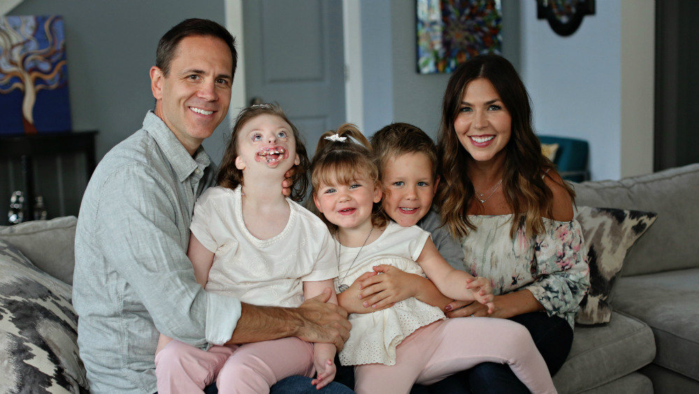 Sophia Weaver's situation is so rare, only two other families in the world can relate. But what's even more uncommon is the love she receives at home, in the hospital and beyond.