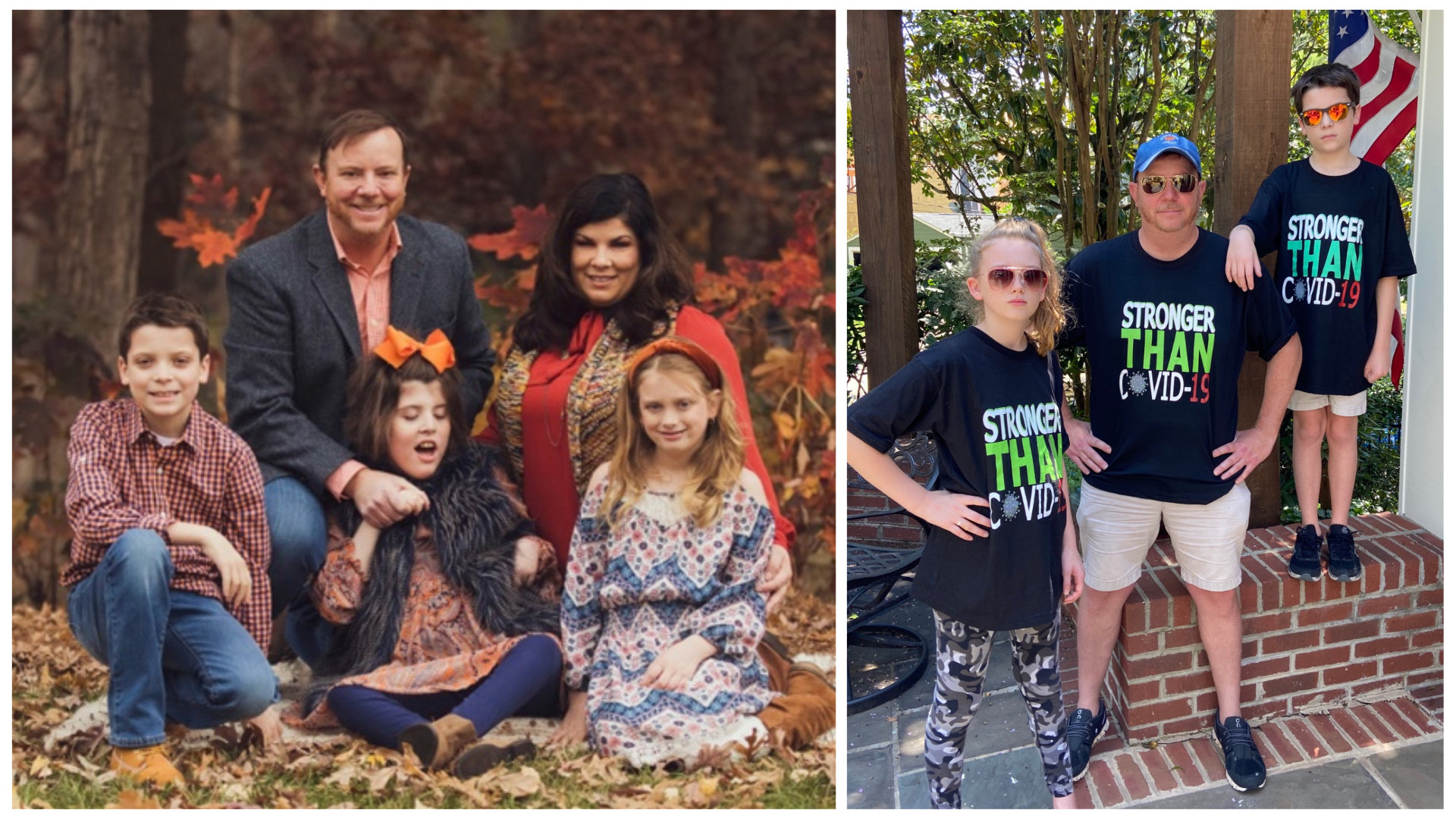 When Dr. Sumrall's husband and their children were diagnosed with COVID-19, the family became a house divided but it didn't tear them apart.