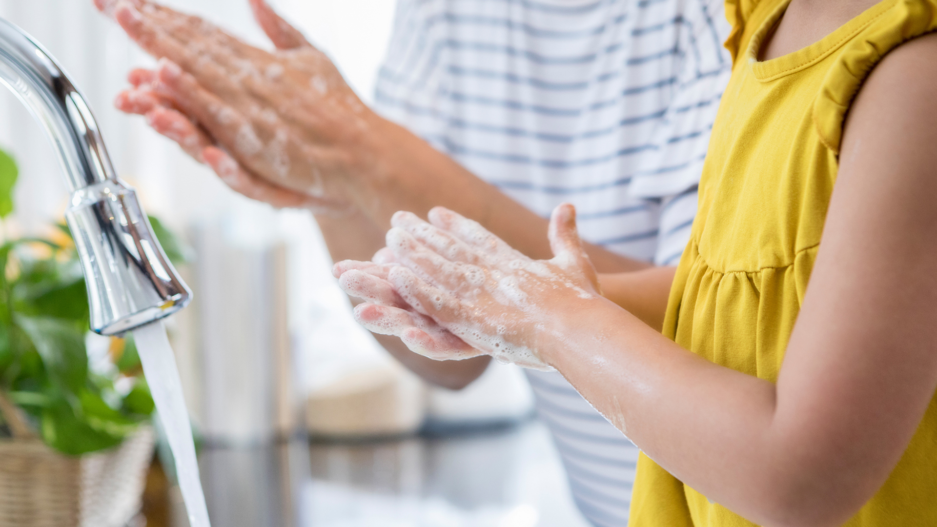 Kids encounter multiple viruses at the start of a new school year. Here are some ways parents can fight germs and stay healthy, too.