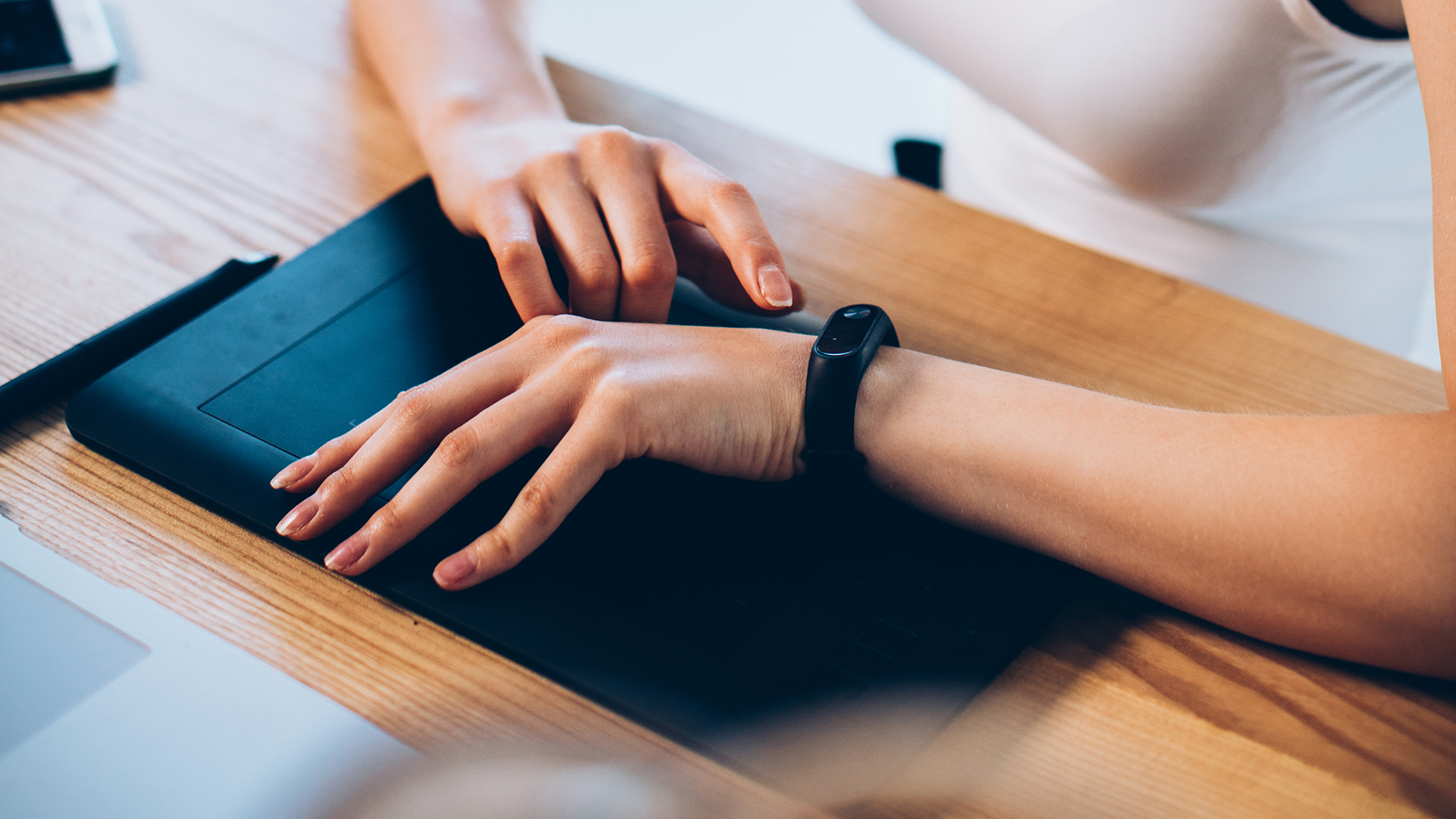 Wearable fitness trackers can be a fun and effective way to improve health in the workplace.