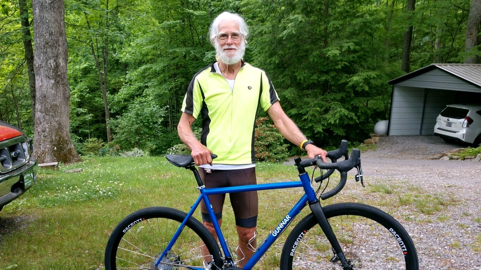 Joel Fine, a patient at Levine Cancer Institute, recently had his bladder removed as part of cancer treatment. But despite a life-changing surgery, he hasn't lost his positive attitude or passion for endurance sports.