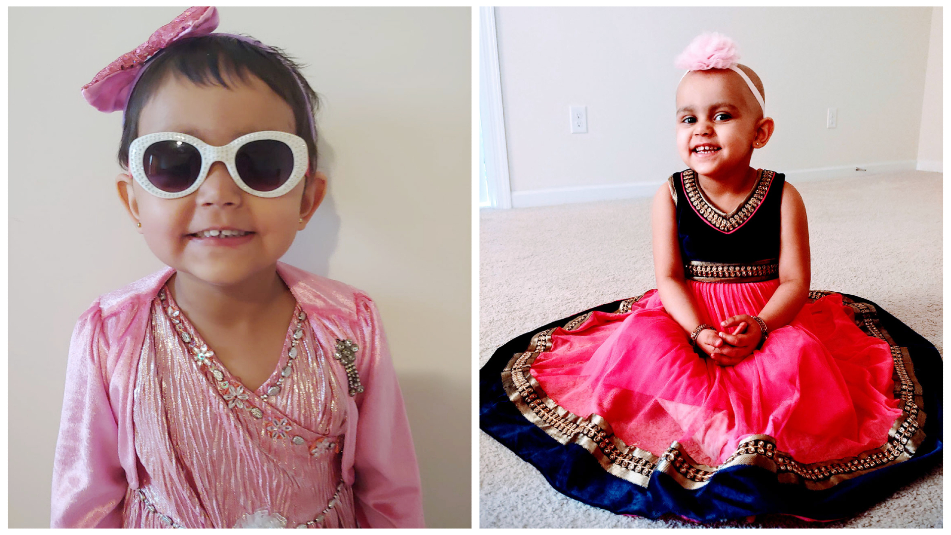 After being diagnosed with leukemia at 2 years old, Myra is in remission and ready to be a cancer-free kid.