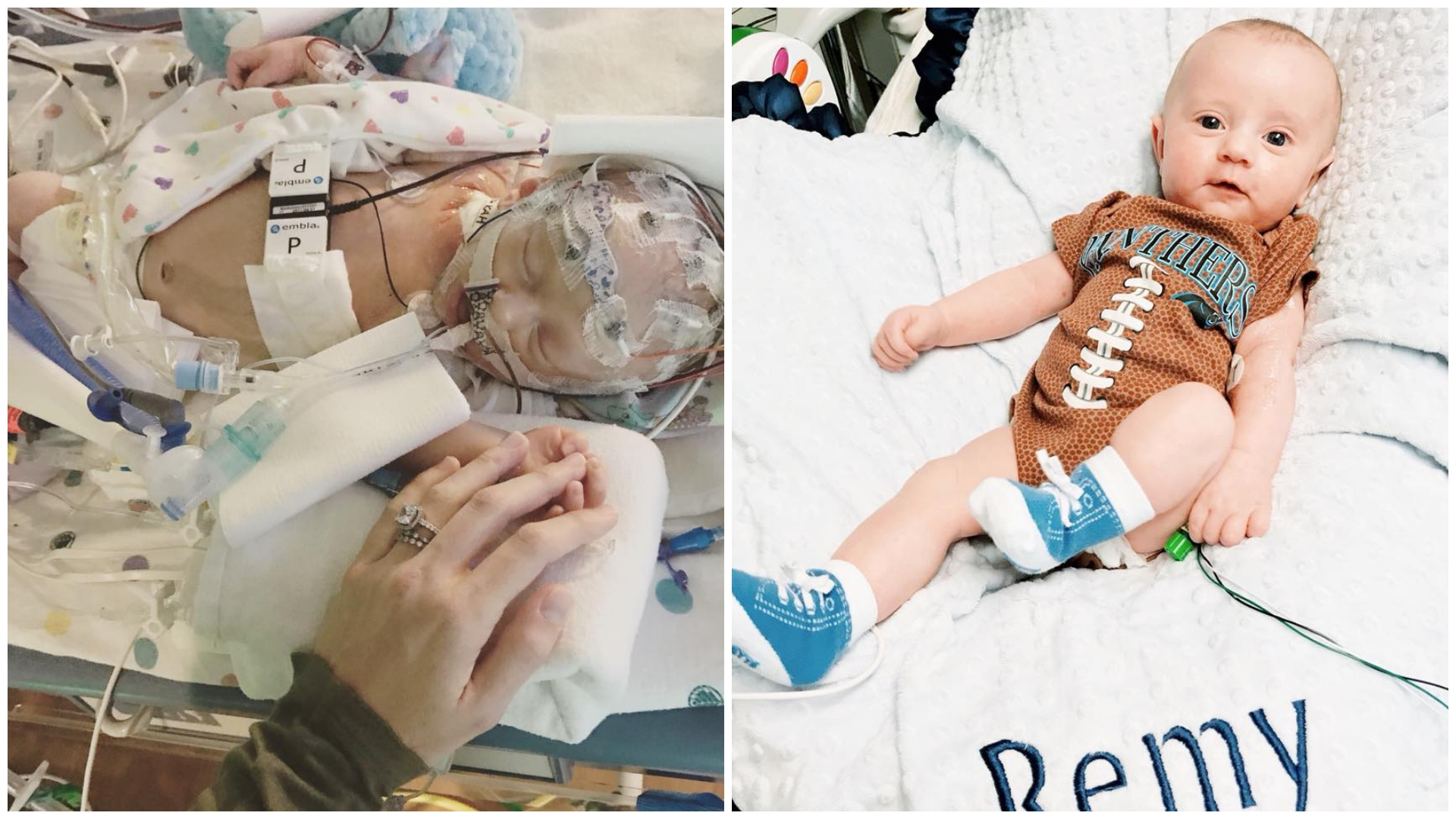 With a family that's full of hope and a care team that's full of determination, Remy Bowes is beating the odds and growing stronger every day.