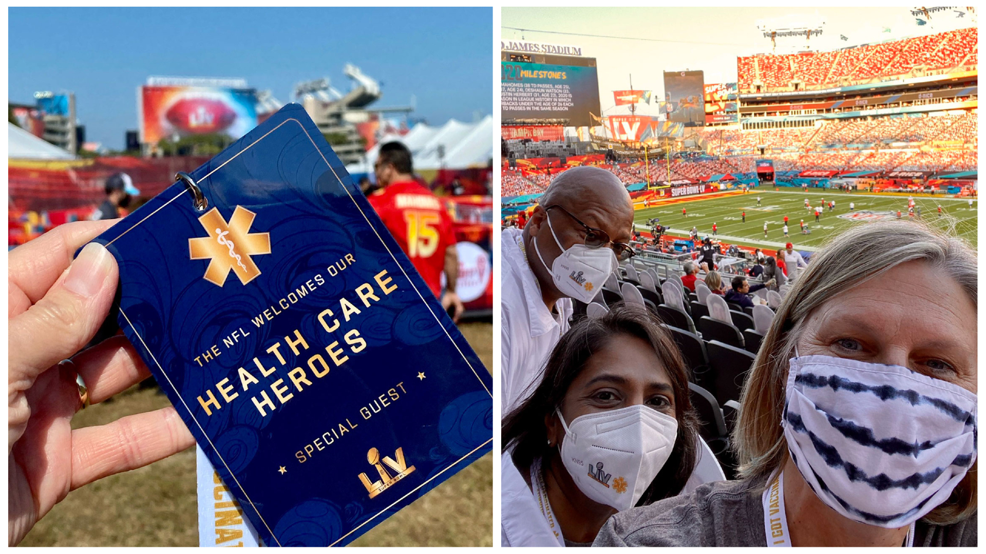 As healthcare workers continue to battle the COVID-19 pandemic, four well-deserving Atrium Health teammates will be recognized for their service and sacrifice with a trip to Super Bowl LV in Tampa, Fla.