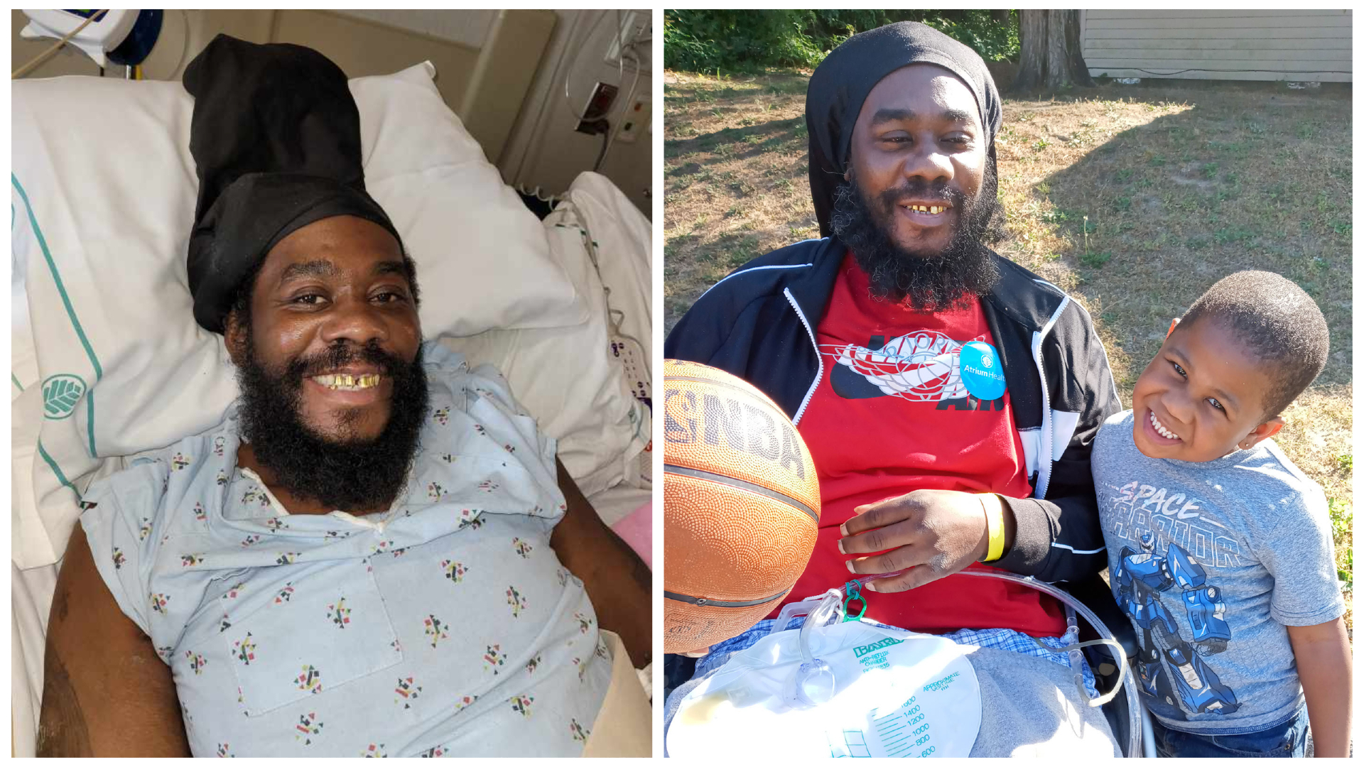 Expert care from the team at Atrium Health Carolinas Medical Center – the region's only Level I Trauma Center – helped Timothy survive from life-threatening injuries after he was shot five times during a home invasion.
