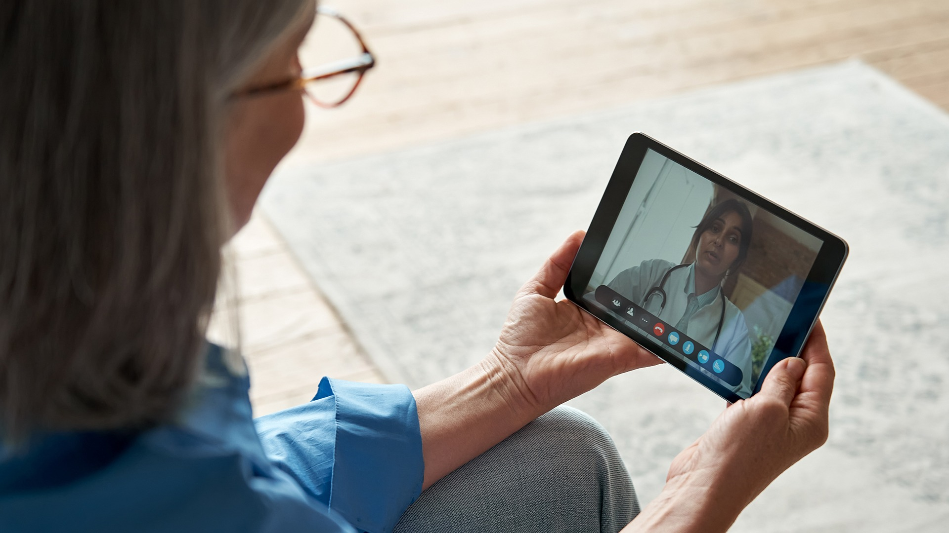 Video visits are video chats with your healthcare provider. In many ways, they're just like in-person visits – but from the comfort of home.