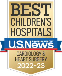 U.S. News and World Report Badge Cardiology
