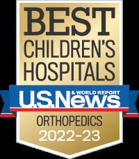 U.S. News and World Report Badge Orthopedics